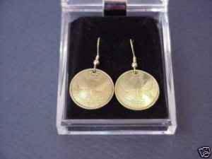 Beautiful coin earrings~Butterflies