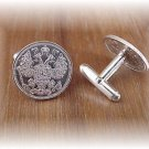P's coin jewelry~ Russian Silver Kopeks cufflinks