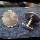 Cufflinks SOUTH CAROLINA State Quarter 25c USA Coin - New Cuffl  FREE SHIPPING