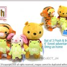 Pooh and friends adventure in forest Disney Sega Japan