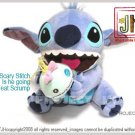 Big Stitch want to eat his doll Scrump Disney Sega Japan