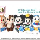 Chip and Dale friends set cutie series Disney Sega Japan