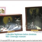Collectible Nightmare before ChristmasCinemagic museum/matchbox Yujin Japan