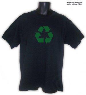 RECYCLING Ecology Symbol T-shirt S, M, L, XL, 2XL