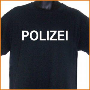 POLIZEI German Police T-Shirt S, M, L, XL