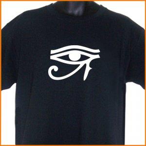 Eyes Of Horus Goth T-Shirt  2XL