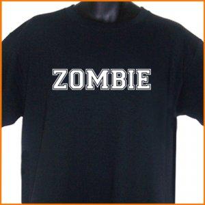 ZOMBIE COLLEGE TEAM ROB T-Shirt  2XL ~ FREE SHIPPING