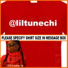 Liltunechi Lil Wayne T-shirt Twitter Young Money Tee RED S -XL