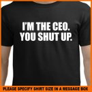 I'm The CEO you shut up K-swiss Video Kenny Powers T-Shirt Tee S -2XL