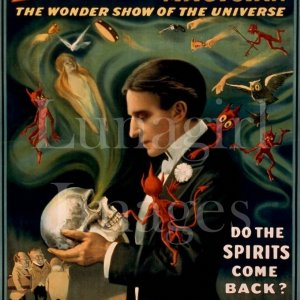 MAGICIANS NOVELTIES posters on CD - vintage theater Magic Musicians Circus