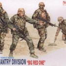 U.S. 1st INFANTRY DIVISION 'BIG RED ONE' - 1/35 DML Dragon 3015