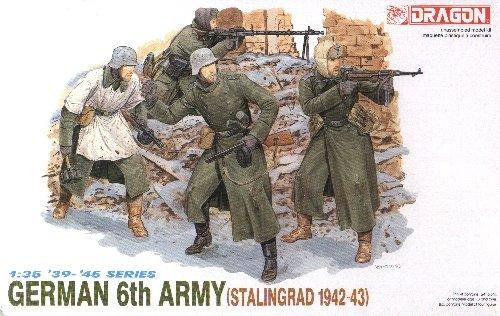 GERMAN 6th ARMY STALINGRAD 1942-43 - 1/35 DML Dragon 6017