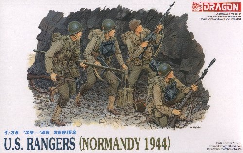U.S. RANGERS NORMANDY 1944 - 1/35 DML Dragon 6021