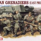 GERMAN GRENADIERS EAST PRUSSIA 1945 - 1/35 DML Dragon 6057