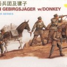 GERMAN GEBIRGSJAGER with DONKEY - 1/35 DML Dragon 6078