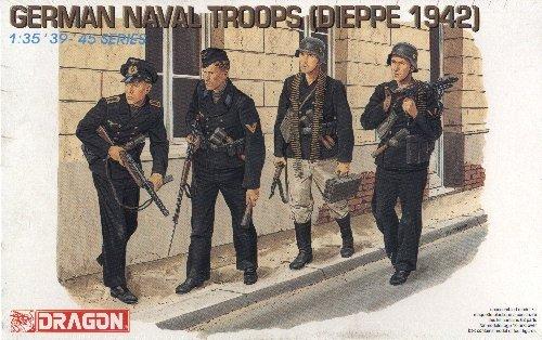 GERMAN NAVAL TROOPS DIEPPE 1942 - 1/35 DML Dragon 6087