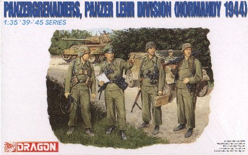 PANZERGRENADIERS PANZER LEHR DIV. NORMANDY 1944 - 1/35 DML Dragon 6111