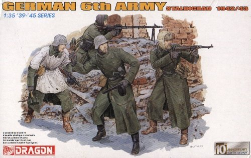 GERMAN 6th ARMY STALINGRAD 1942/43 - 1/35 DML Dragon 6172
