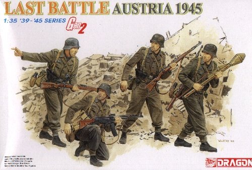LAST BATTLE AUSTRIA 1945 - 1/35 DML Dragon Gen2 6278