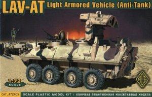 LAV-AT LIGHT ARMORED VEHICLE ANTI-TANK - 1/72 ACE 72405