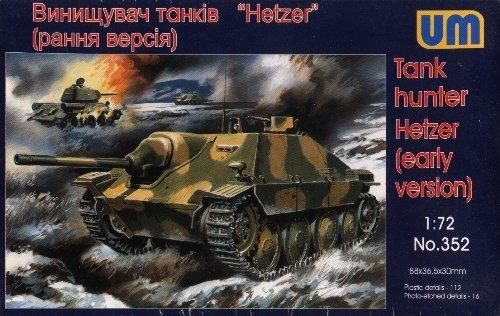 HETZER EARLY VERSION - 1/72 UM UniModels 352