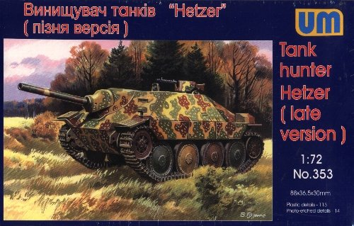 HETZER LATE VERSION - 1/72 UM UniModels 353