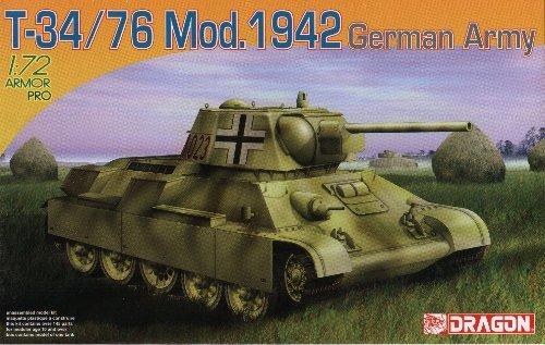 T-34/76 Model 1942 GERMAN ARMY - 1/72 DML Dragon 7268