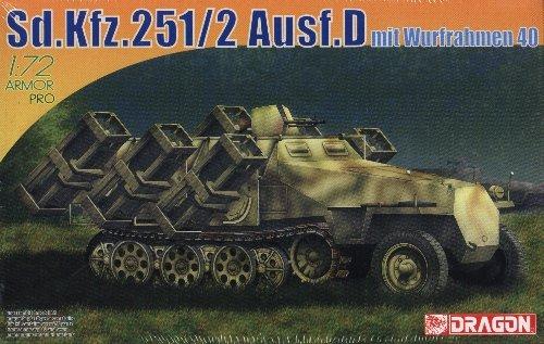 SdKfz 251/2 AUSF D mit WURFRAHMEN 40 - 1/72 DML Dragon 7310