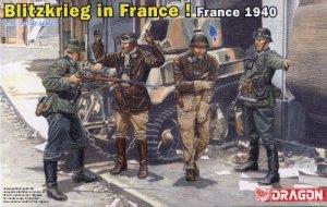 BLITZKRIEG IN FRANCE! FRANCE 1940 - 1/35 DML Dragon 6478