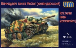 HETZER COMMANDER'S VERSION - 1/72 UM UniModels 356