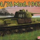T-34/76 Model 1943 - 1/72 DML Dragon 7277