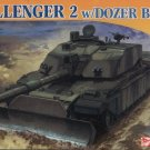 CHALLENGER 2 with Dozer Blade - 1/72 DML Dragon 7285