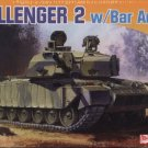 CHALLENGER 2 with Bar Armor - 1/72 DML Dragon 7287