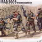 PMC IN IRAQ 2005 ARMED ASSAULT TEAM - 1/35 Trumpeter 419