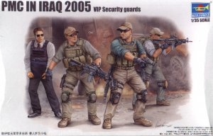 PMC IN IRAQ 2005 VIP SECURITY GUARDS - 1/35 Trumpeter 420