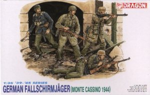 GERMAN FALLSCHIRMJAGER MONTE CASSINO 1944 - 1/35 DML Dragon 6005
