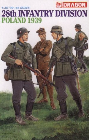 28th INFANTRY DIVISION POLAND 1939 - 1/35 DML Dragon 6344