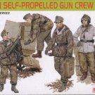 GERMAN SELF-PROPELLED GUN CREW - 1/35 DML Dragon Premium Edition 6530