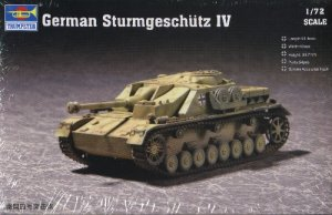 StuG IV STURMGESCHUTZ - 1/72 Trumpeter 7261