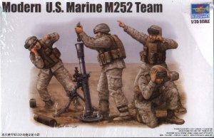Modern U.S. MARINE M252 TEAM - 1/35 Trumpeter 423