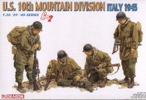 U.S. 10th MOUNTAIN DIVISION ITALY 1945 - 1/35 DML Dragon Gen2 6377