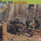 5cm PaK38 with CREW - 1/35 DML Dragon Premium Edition 6444