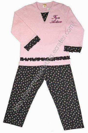 FunActive 2 piece Pajamas (TGN245PK)