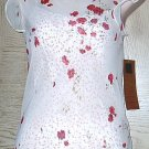 New CAROLE LITTLE DRESS 2 Piece Slip Sundress SIZE 4  RED Rose Print