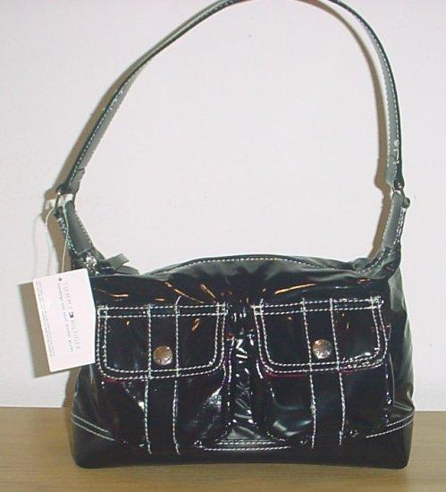 New TOMMY HILFIGER PURSE Mod Times Shoulder Bag BLACK