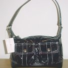 New TOMMY HILFIGER PURSE Mod Times Shoulder Bag BLACK