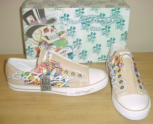 NEW Mens ED HARDY SNEAKERS Melrose
