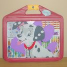 New DISNEY 101 DALMATIONS ART ACTIVITY CASE Markers,Pens,Pencils,Stickers 27 PIECE SET