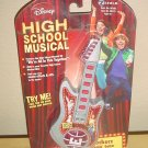 New DISNEY HIGH SCHOOL MUSICAL Rockerz Jammin Guitar PLAYS MUSIC Collectible