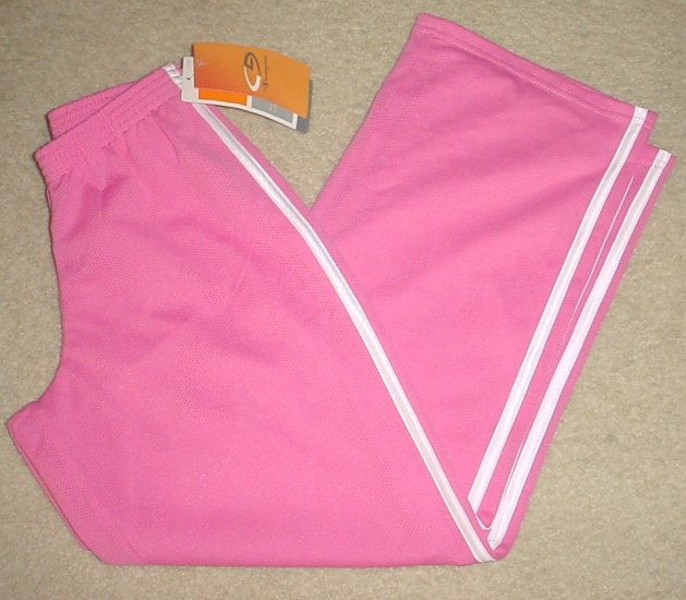 NWT Girls CHAMPION TRACK ATHLETIC PANTS Size 8 PINK